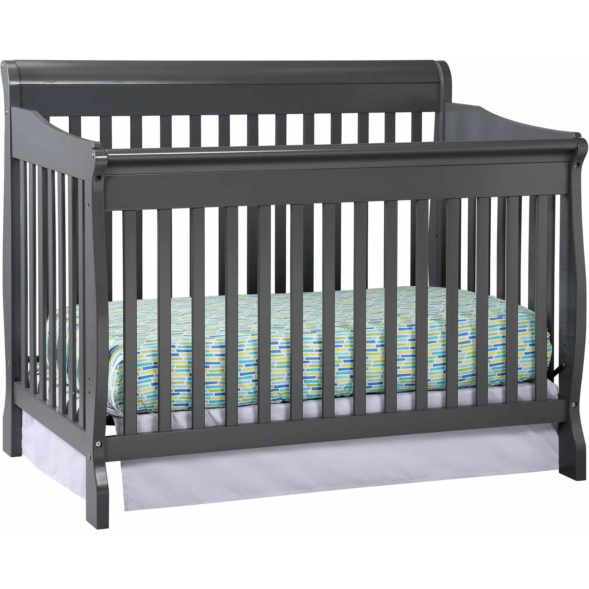 Storkcraft Modena 4 in 1 Convertible Crib Gray