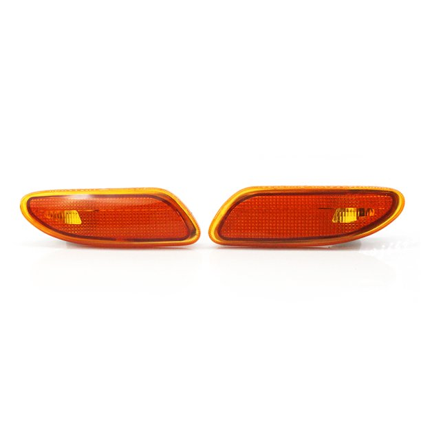 Genuine Right And Left Side Marker In Bumper Turn Signal