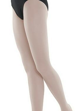 ef75799f5 Product Image Danshuz Girls Theatrical Pink Nylon-Micro Spandex Convertible  Tights 6X-14