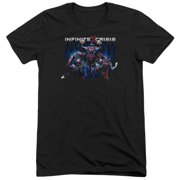 Infinite Crisis Ic Super Mens Tri-Blend Short Sleeve Shirt
