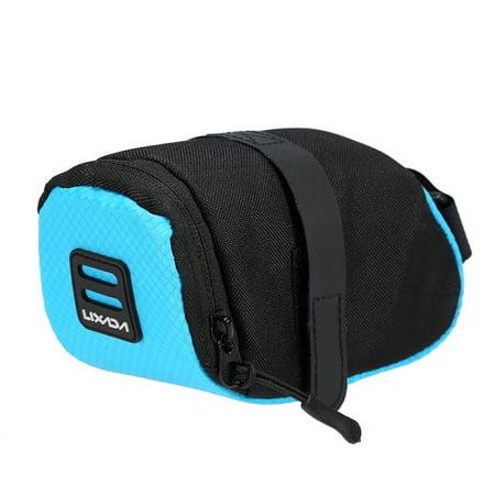 Lixada Mini Mountain Bike Saddle Bag Pouch Road Bicycle Seat Tail Pack Outdoor Cycling Seatpost Bag (Mini Saddlebags)