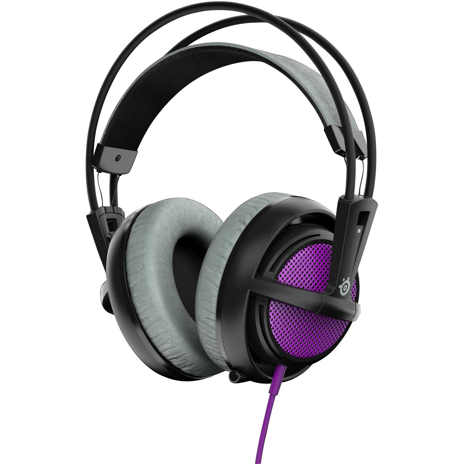 SteelSeries Siberia 200 Headset, Black/Purple