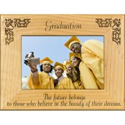 Giftworks Plus SCH0011 Graduation Beauty Of Dreams, Alder Wood Frame, 8 x 10 In