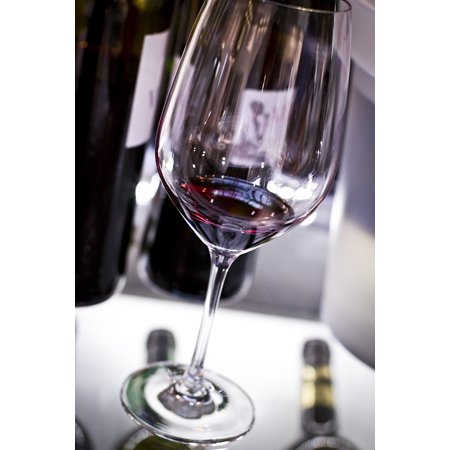 LAMINATED POSTER Glass Grapes Wine Cellar Bottle Wine Barrels Wine Poster Print 24 x 36