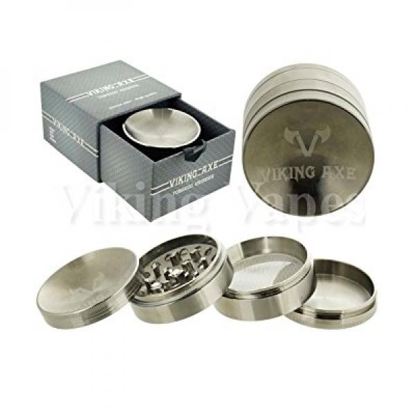 Unishow ® 4 Part 62mm VIKING AXE Tobacco Spice Herb Weed Parabolic Grinder