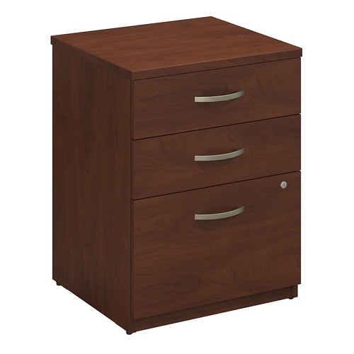 Bush Business Furniture Series C Elite Pedestal 3 Drawer Vertical File
