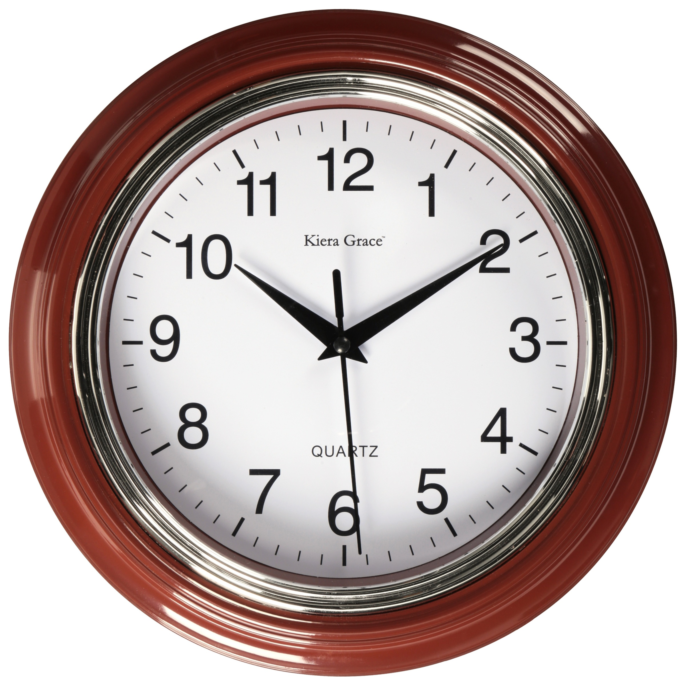 """Aster 10"""" Round Wall Clock"""