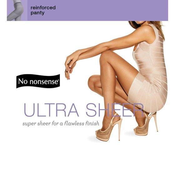 a6b0b6f46 No nonsense - Women s Ultra-Sheer Pantyhose - Walmart.com