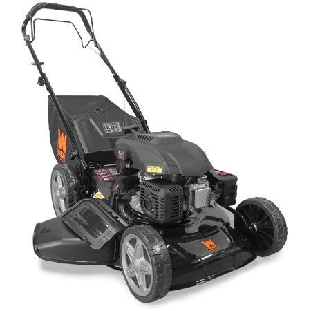 WEN 173cc 21-Inch Gas-Powered 4-in-1 Self-Propelled Lawn Mower