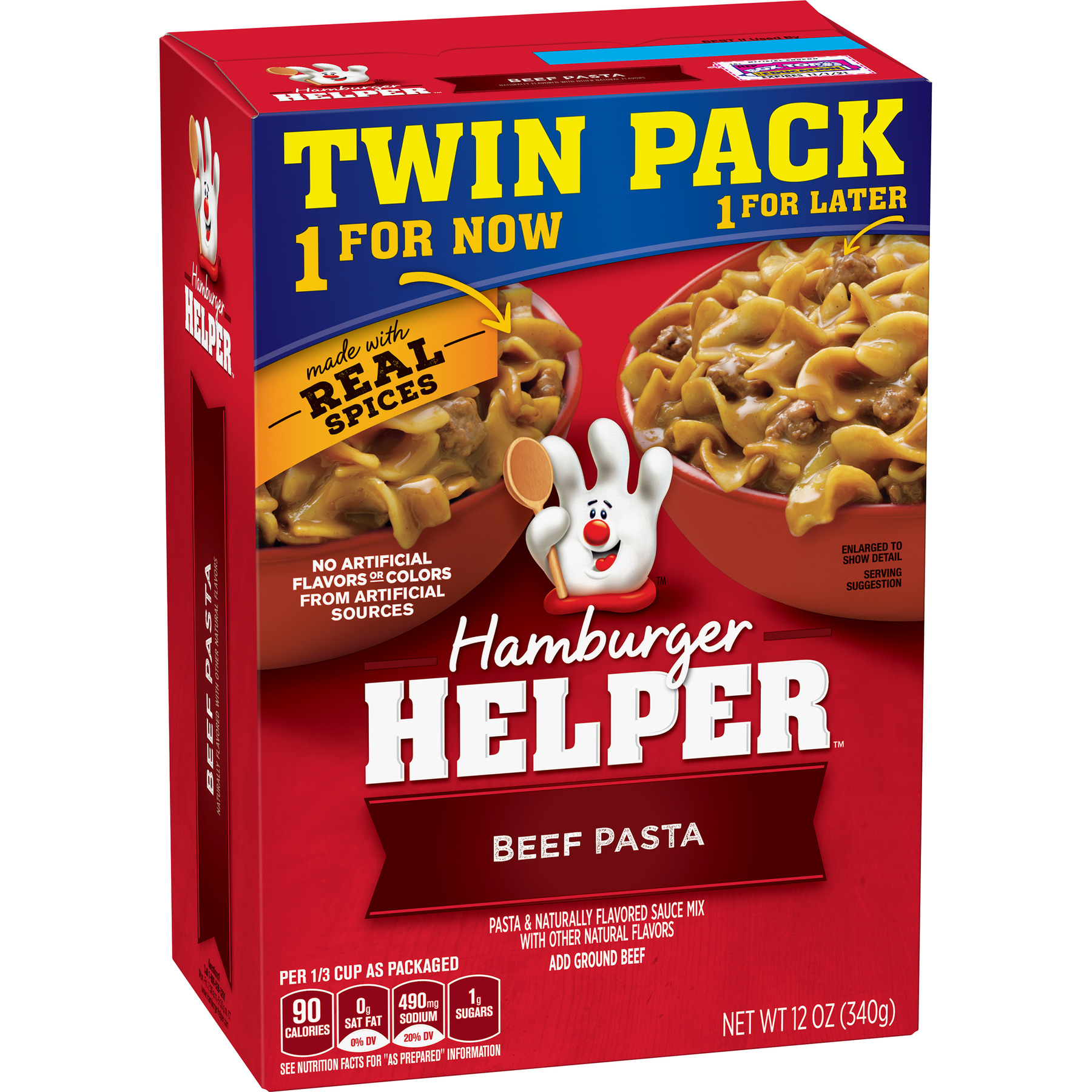 Betty Crocker Hamburger Helper Beef Pasta and Sauce Mix, 12 oz