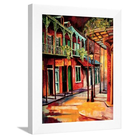 New Orleans Saints Framed - Escape To New Orleans Framed Print Wall Art By Diane Millsap