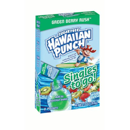 Hawaiian Punch Sugar-Free Wild Purple Smash To Go Drink Mix Singles, 0.84 Oz., 8 Count