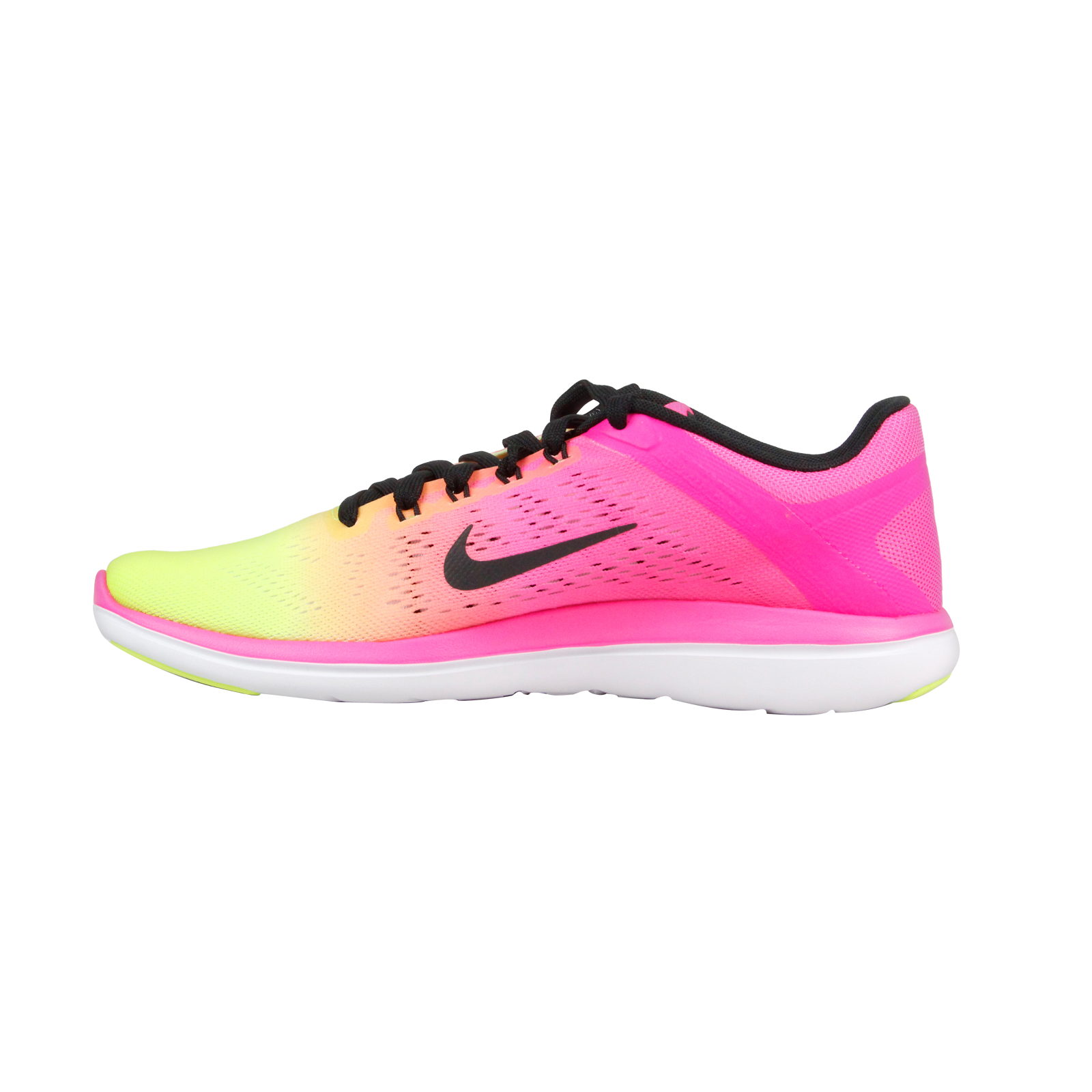 Nike Men's Flex 2016 Rn Oc Multi-Color/Multi-Color Ankle-High Mesh Cross Trainer Shoe - 9M
