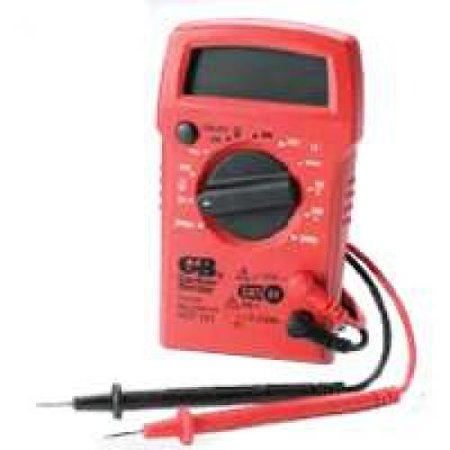 Gardner Bender GDT-311 Digital Multimeter, 3 Function, 11 Range, Tests AC/DC Voltage and Resistance, Manual Ranging
