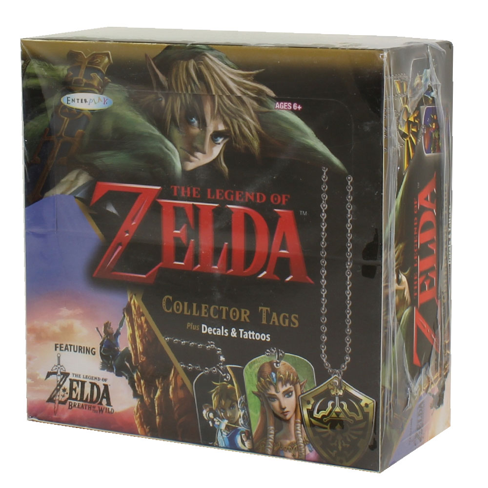 Enterplay - The Legend of Zelda Collector Dog Tags - BOX (24 Packs)