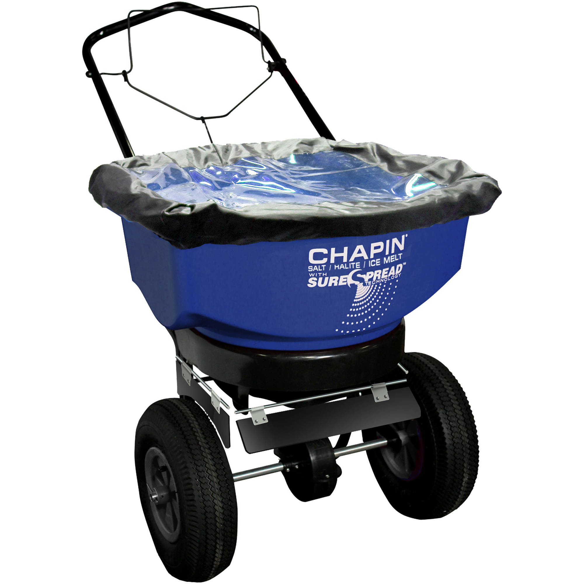 Chapin 80088A 80-Pound Capacity Residential Salt/Ice Melt Spreader With Edge Control