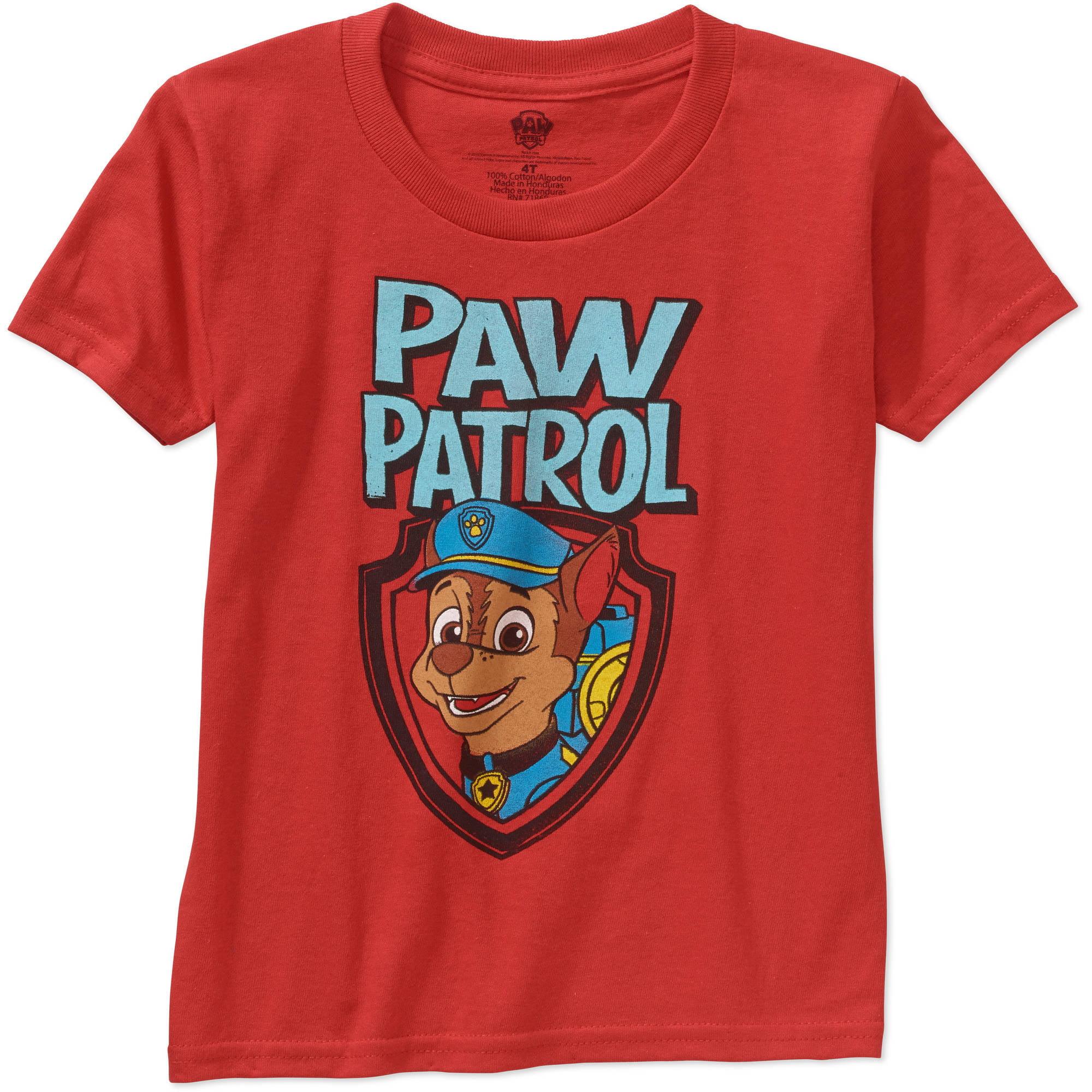 Nickelodeon Paw Patrol Toddler Boy Short Sleeve Graphic Tshirt