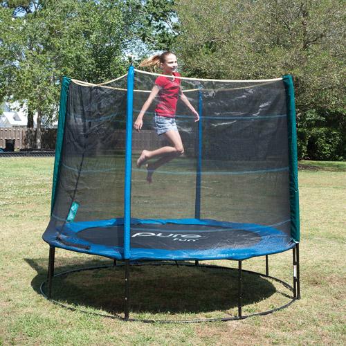 Pure Fun 8' Trampoline Set