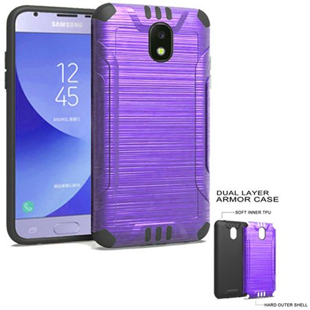 cheaper 77e2d 5f2cc Phone Case For Samsung Galaxy J3 Top (Verizon) J3V 3rd Gen, Galaxy J3 Star,  Amp Prime 3, J3 Achieve, Express Prime 3, J3 (2018) Dual-Layered Cover ...