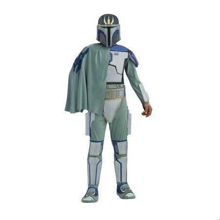 Star Wars Mens Dlx. Pre Vizla Halloween Costume