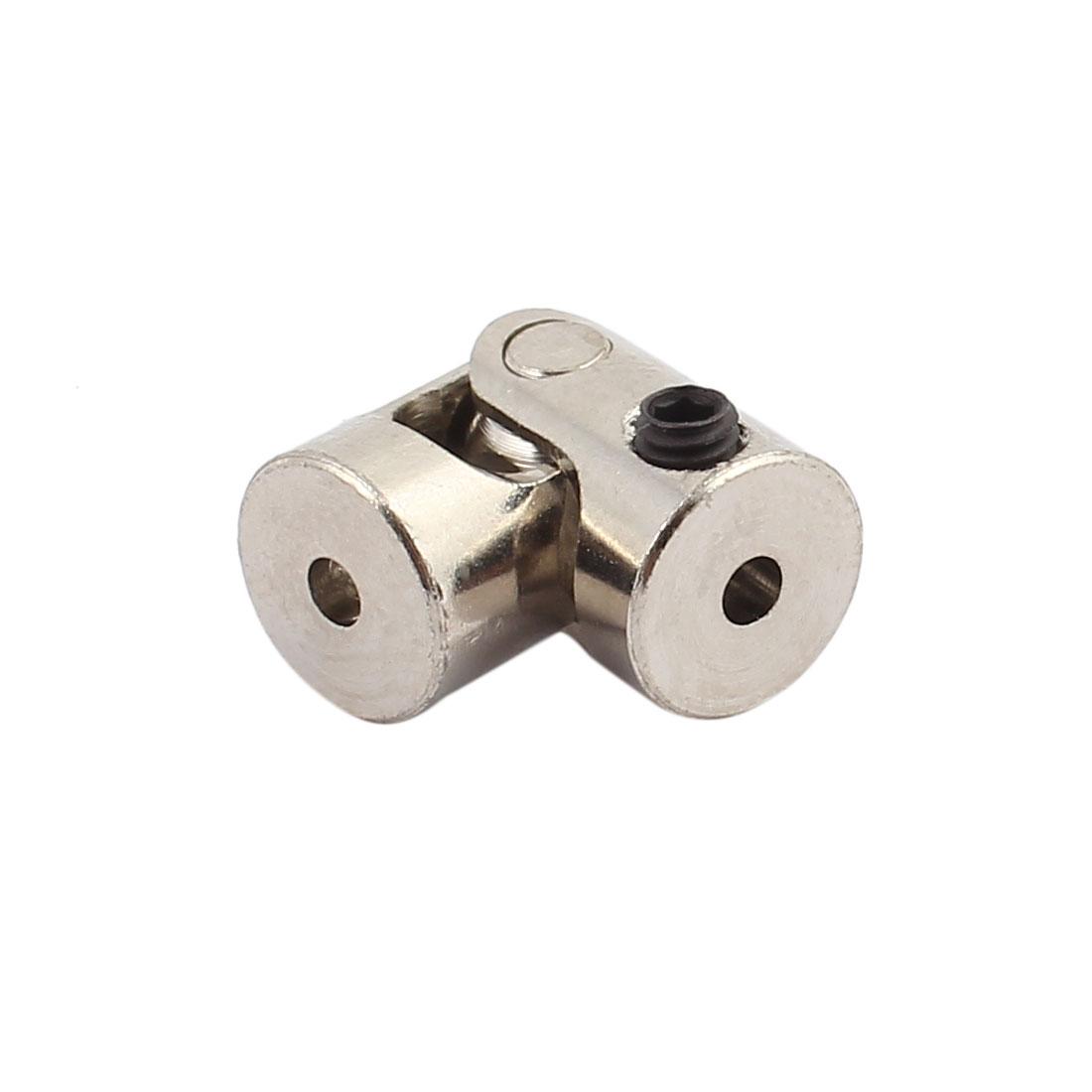 2pcs 2.0mm to 2.0mm Inner Diameter Rotatable Universal Steering Shaft U Joint - image 1 de 2
