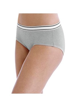 Hanes Women's sporty cotton hipster assorted panties, 6 pack