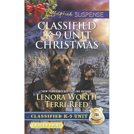 Classified K 9 Unit Christmas