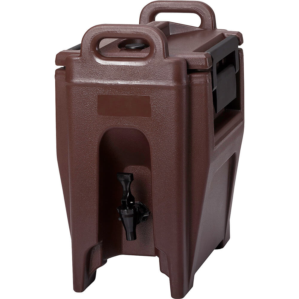 Cambro 2.75 Gal. Insulated Beverage Dispenser, Ultra Camtainer, Dark Brown, UC250-131