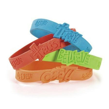 Fantastic Faith Rubber Bracelets (2 dz) | Walmart Canada