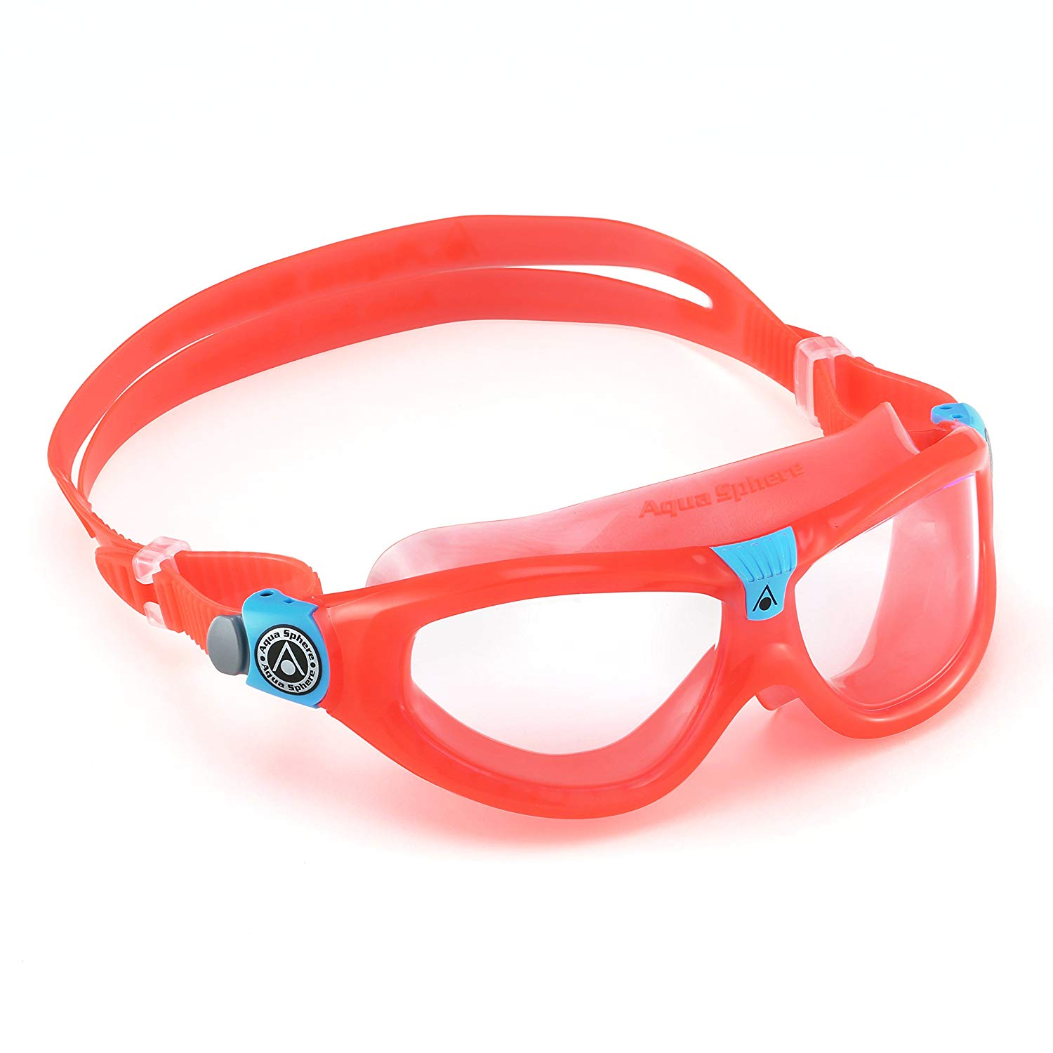 Seal Kid 2 Swim Goggle, Clear Lens   Coral, Mixed, , By Aqua Sphere by