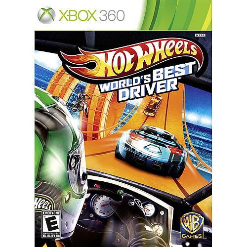 Hot Wheels: World's Best Driver (Xbox 360) Warner Bros., 883929360727