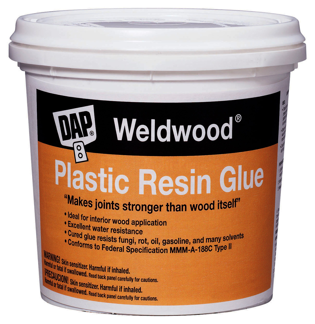 Dap Weldwood 204 4.5 lb. Plastic Resin Wood Glue