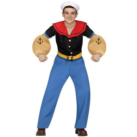 Popeye Teen Costume - Quick Halloween Costume Ideas For Teenagers