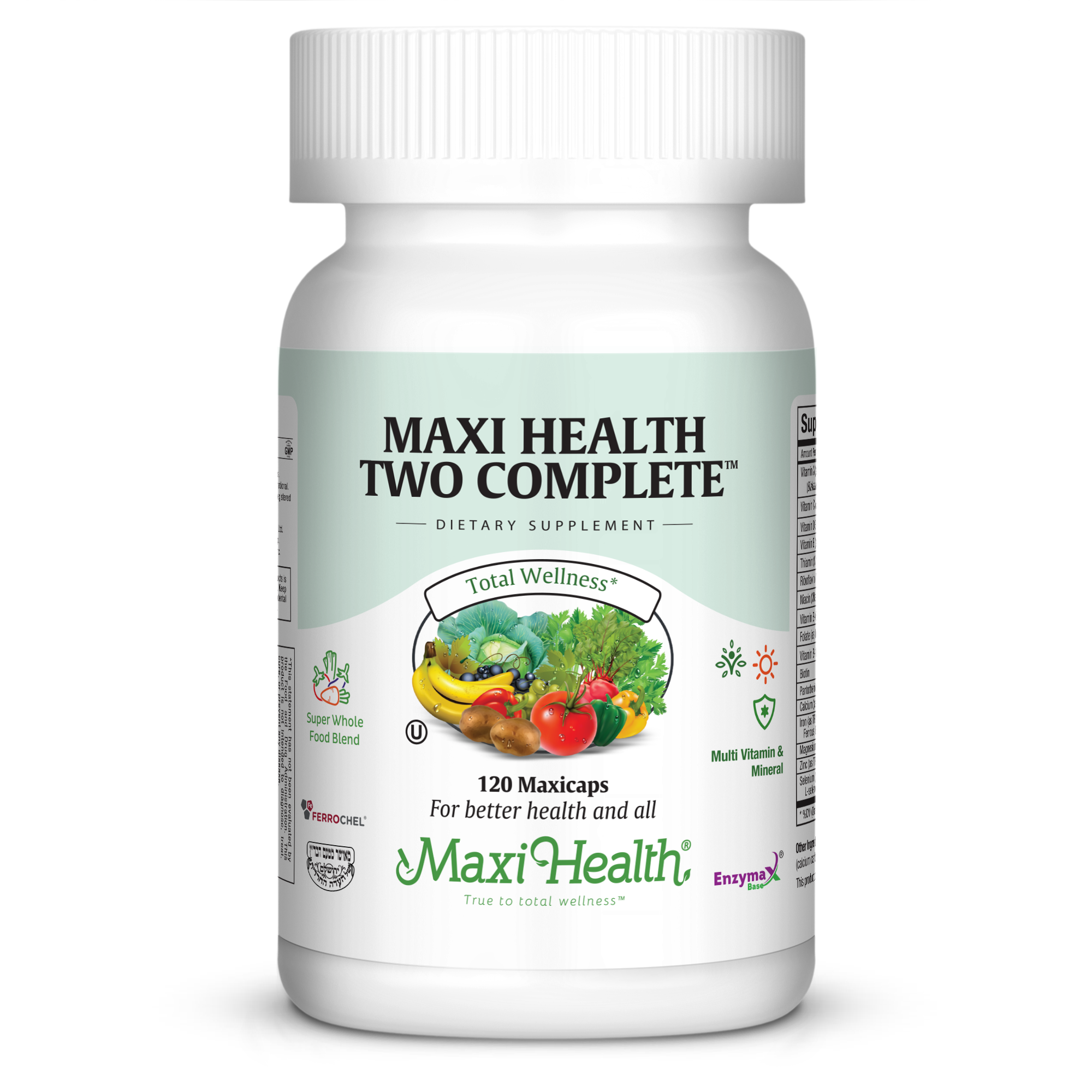 Maxi Health Two Complete Capsules, 120 Ct