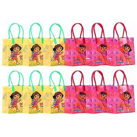 12PCS Dora The Explorer Goodie Party Favor Gift Birthday Loot Bags Licensed - Dora Birthday Party Ideas