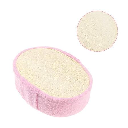 Natural Loofah Bath Sponge Foams Bath Towel Brush Shower Exfoliating Gloves Body Cleaning Massage Scrubber Body Brush Pink