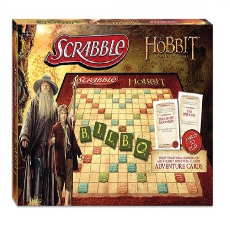 The Hobbit Scrabble Board Game by
