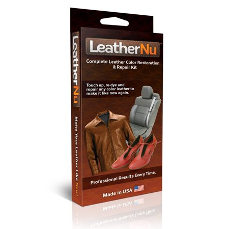 Overshelf Kit - LeatherNu Complete Leather Color Restoration & Repair Kit
