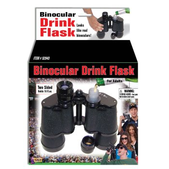 BINOCULAR DRINK FLASK](Novelty Flasks)