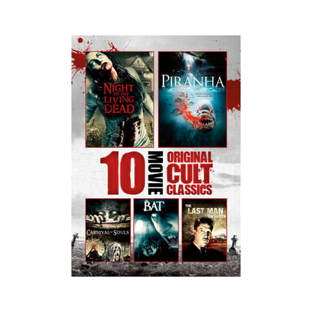 10-Film Horror Cult Classics Collection (DVD) (Halloween Horror Classics)