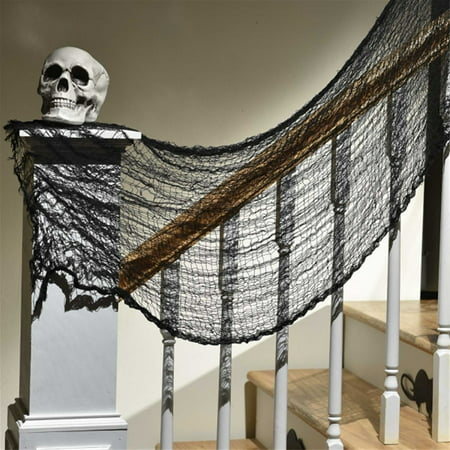 BLACK HALLOWEEN CREEPY CLOTH (Creepy Halloween Decoration Ideas Diy)