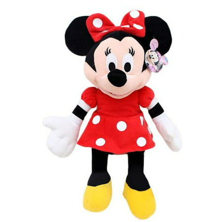 Plush - Disney - Minnie Mouse Red Polka Dot Dress 15