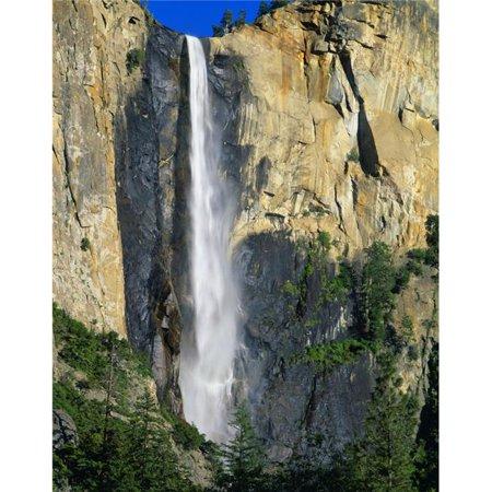 Posterazzi Dpi1783191 Bridal Veil Falls Yosemite National Park California Usa Poster Print By David L  Brown  44  13 X 17