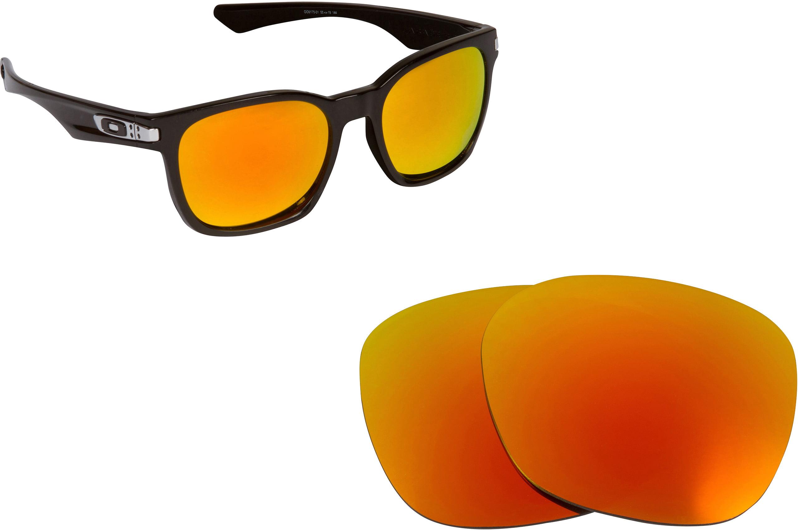 15c79588f9 Seek Optics - SEEK Polarized Replacement Lenses for Oakley GARAGE ROCK  Yellow Green Mirror - Walmart.com