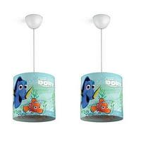 Philips Disney Finding Dory Kids Ceiling Suspension Hanging Light Lamp (2 Pack)