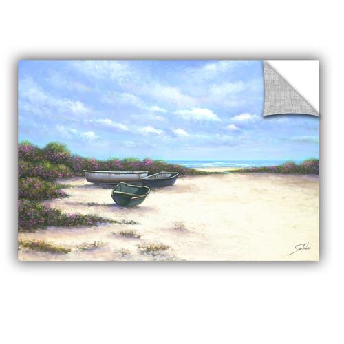 ArtWall West Wind Beach Wall Mural