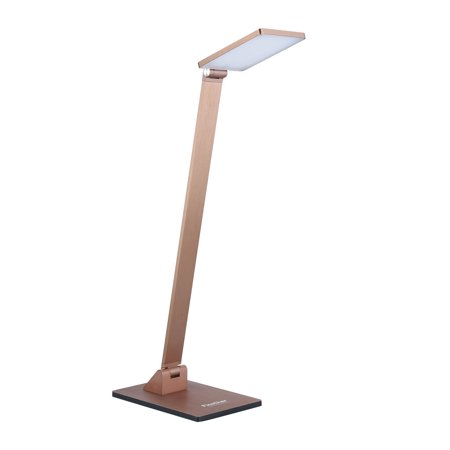 Finether 10w Touch Activated Square Head Folding Aluminum Led Desk Lamp Table