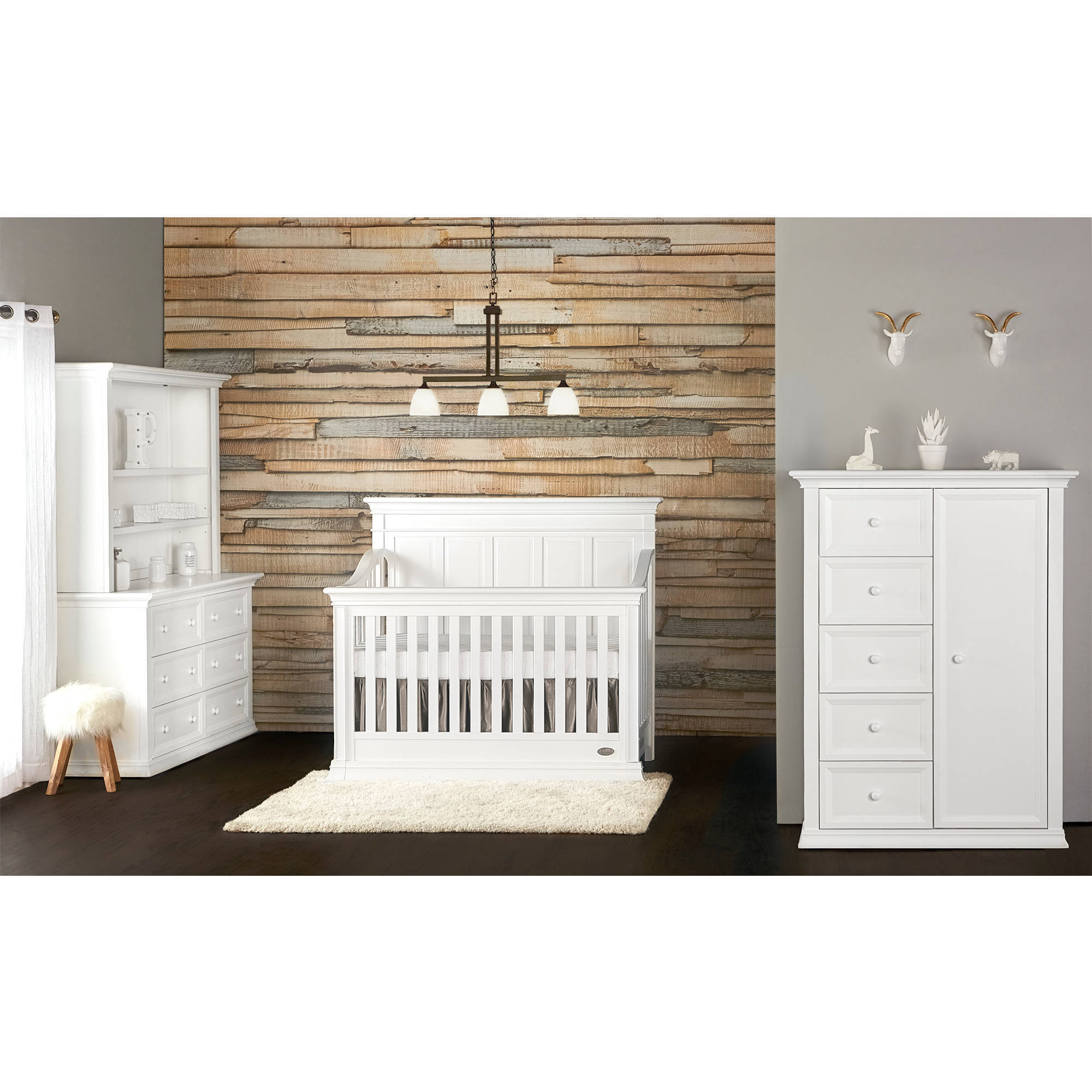 Evolur Napoli 5 in 1 Convertible Crib, Choose Your Finish