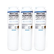 Refrigerator Water Filter Replacement Compatible with Maytag  UKF8001, UKF8001P, UKF8001AXX, Kenmore 46-9006, Whirlpool 4396395 EDR4RXD1, Everydrop Filter 4, Puriclean II (3 Pack)
