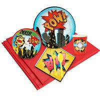 Superhero Comics Party Pack for 24